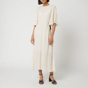 See By Chloé Women's Flare Sleeve Dress - Milk