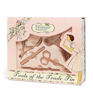 The Vintage Cosmetic Company Tools of the Trade Tin(더 빈티지 코스메틱 컴퍼니 툴스 오브 더 트레이드 틴)