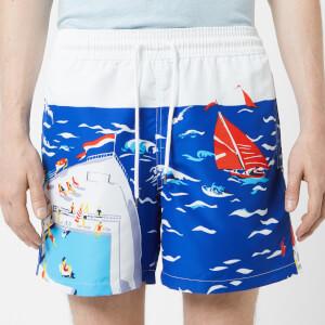 Polo Ralph Lauren Men's Traveler Printed Swim Shorts - Cruise Ship