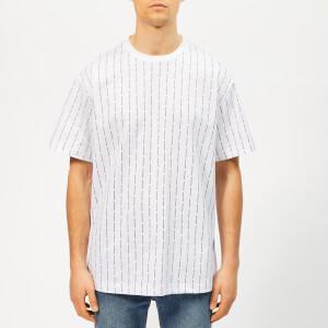 Wooyoungmi Men's Vertical Logo T-Shirt - White