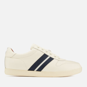 Polo Ralph Lauren Men's Camilo Leather Low Top Trainers - Artist Cream/Newport Navy