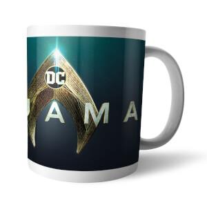 Aquaman Title Logo Mug