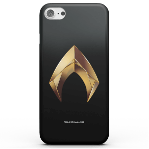 Funda Móvil DC Comics Aquaman Gold Logo para iPhone y Android