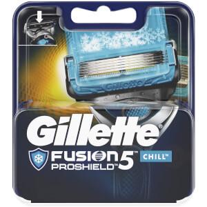 Fusion5 ProShield Chill Razor Blades for Men