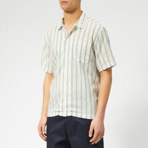 Universal Works Men's Road Shirt - Hendrix White