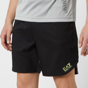 Emporio Armani EA7 Men's Ventus 7 Shorts - Black