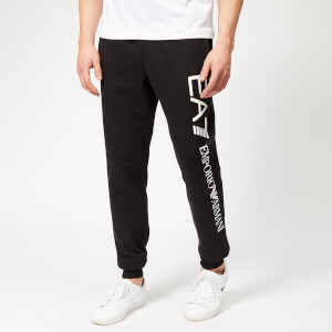 Emporio Armani EA7 Men's Train Logo Series Superslim Joggers - Black