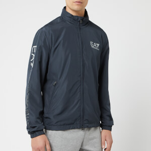 Emporio Armani EA7 Men's Train Series Extended Logo Jacket - Navy Blue
