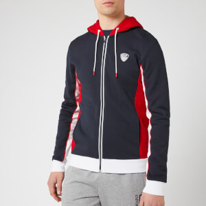 Emporio Armani EA7 Men's Tennis Classic Hoody - Night Blue