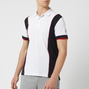 Emporio Armani EA7 Men's Tennis Classic Polo Shirt - White