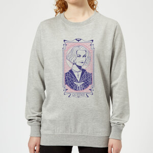Fantastic Beasts Queenie Women's Sweatshirt - Grey