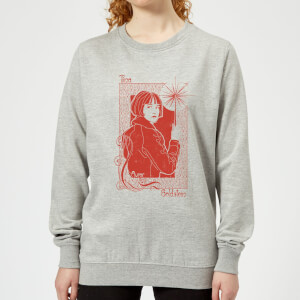 Fantastic Beasts Tina Goldstein Women's Sweatshirt - Grey