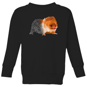 Fantastic Beasts Tribal Baby Niffler Kids' Sweatshirt - Black