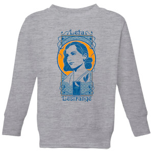 Fantastic Beasts Leta Lestrange Kids' Sweatshirt - Grey