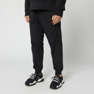 Y-3 Men's Woven Lux Cuff Track Pants - Black