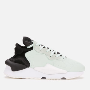 Y-3 Kaiwa Trainers - Salty Green Y-3/Core White