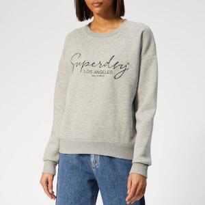 Superdry Women's Alice Crew Sweatshirt - Sand Grey Marl