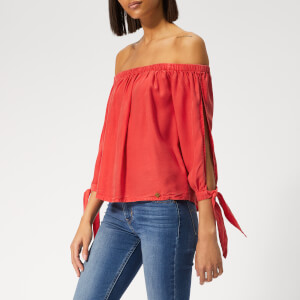 Superdry Women's Helena Top - Washed Red