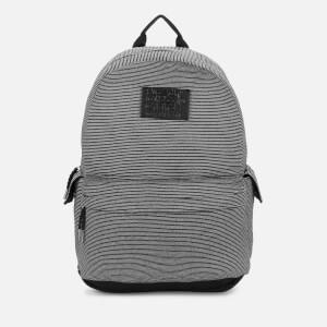 5126e88fa62 Superdry Women's Jersey Stripe Montana Backpack - Black Sparkle Stripe