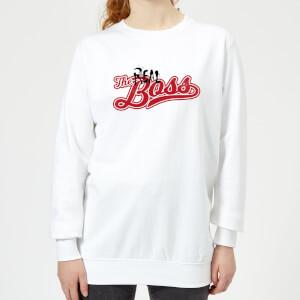 The Real Boss Women's Sweatshirt - White