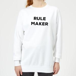 Rule Maker Women's Sweatshirt - White