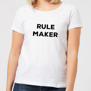 Rule Maker Women's T-Shirt - White