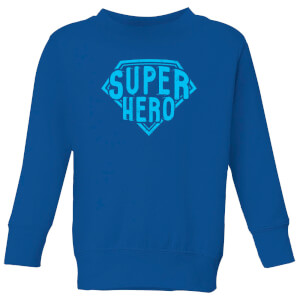 Super Hero Kids' Sweatshirt - Royal Blue