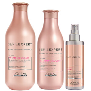 L'Oréal Professionnel Serie Expert Vitamino Color Shampoo, Conditioner and 10-in-1 Trio