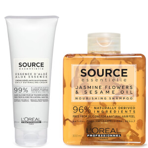 L'Oréal Professionnel Source Essentielle Dry Hair Shampoo and Hair Cream Duo