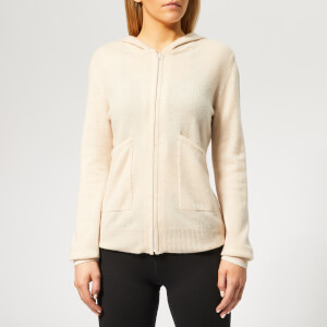 Pepper & Mayne Women's Exclusive Cashmere Apres Sport Hoody - Creme Brulee