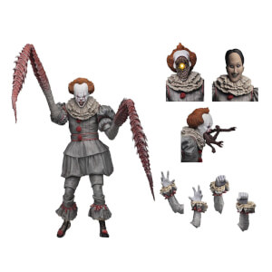 "Action Figure del ""Clown ballerino"" Pennywise di IT, NECA - 18 cm"