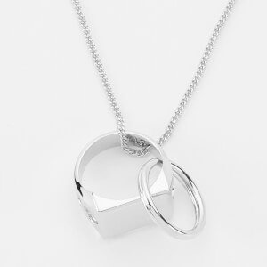A.P.C. Men's Theo Necklace - Argent