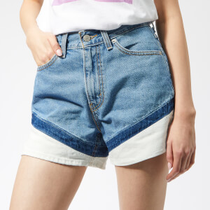 Levi's Women's Mom A Line Shorts - On Your Marks