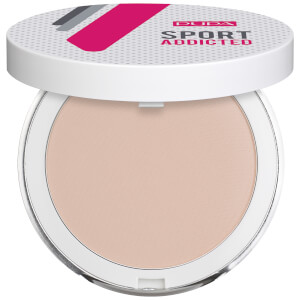 PUPA Sport Exclusive Addicted Powder Sweat and Water Resistant Compact Powder 7 g - Natural Beige