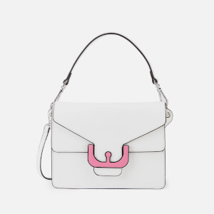 Coccinelle Women's Ambrine Graphic Cross Body Bag - White