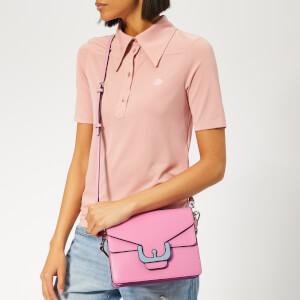 Coccinelle Women's Ambrine Graphic Cross Body Bag - Bubble Gum: Image 3