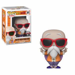 Dragon Ball Z Master Roshi (Peace Sign) EXC Funko Pop! Vinyl