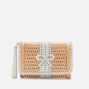 Anya Hindmarch Women's The Neeson Basket Clutch - Natural/Chalk