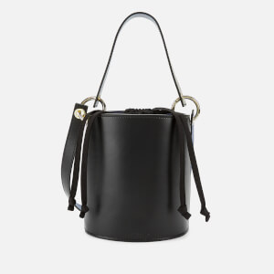 Whistles Women's Matilda Bucket Bag with Top Handle - Black