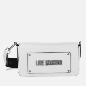 Love Moschino Women's Small Cross Body Bag - White