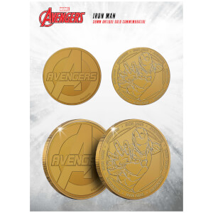 Marvel Iron Man Collectable Evergreen Commemorative Coin