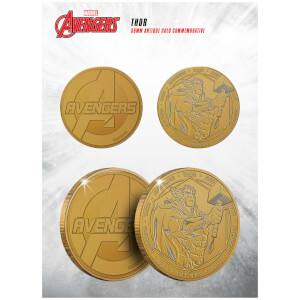 Marvel Thor Collectible Evergreen Commemorative Coin