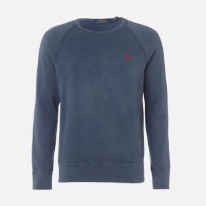 Polo Ralph Lauren Men's Towelling Lightweight Sweatshirt - Cruise Navy