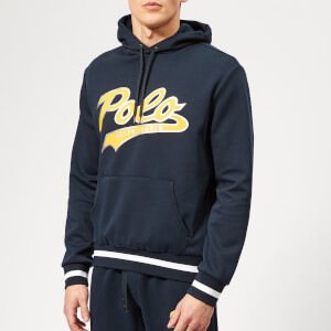 Polo Ralph Lauren Men's Polo Foil Logo Hooded Sweatshirt - Navy