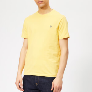 844f3ac6 Polo Ralph Lauren Men's Basic T-Shirt - Fall Yellow