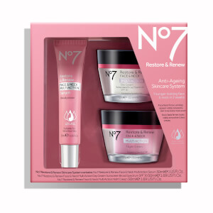 No7 Restore and Renew Multi Action Skincare System 50oz (Worth $88)
