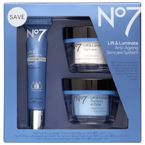 Boots No.7 Lift and Luminate Triple Action Skincare System 1.6oz (Worth $88)