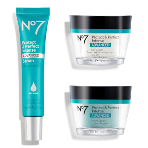 No7 Protect and Perfect Intense Skincare System 1.6oz (Worth $80)