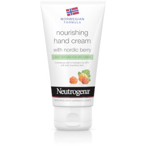 Norwegian Formula Nourishing Hand Cream with Nordic Berry 75ml
