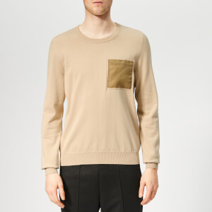 Maison Margiela Men's Pocket Knit Jumper - Beige